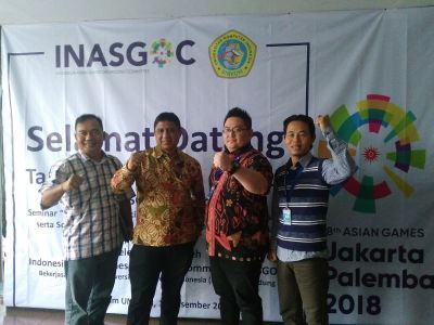 "INASGOC Ajak  Mahasiswa UNIKOM Jadi Bagian  ""Program Legacy Broadcast ASIAN GAMES 2018"""